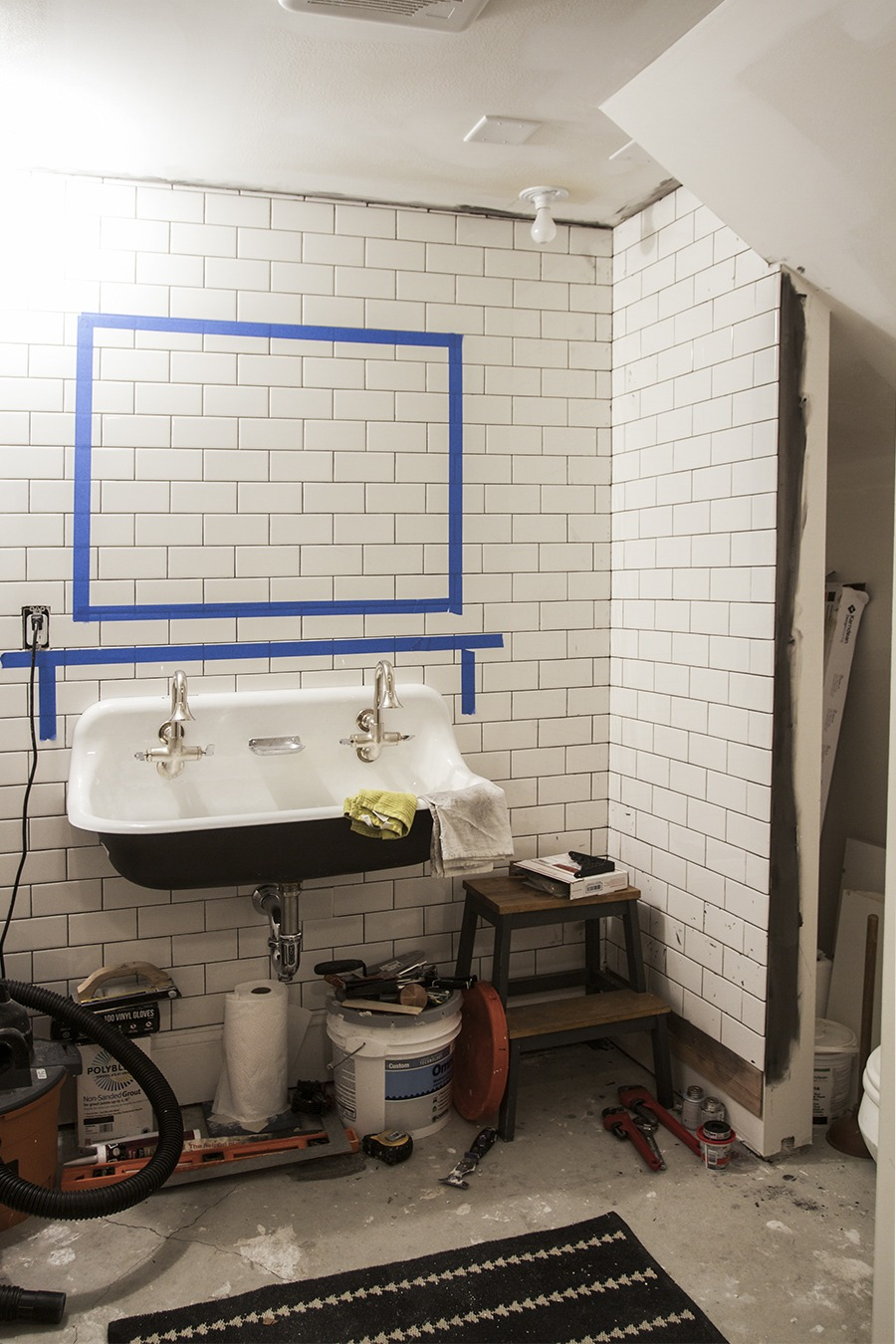 Basement Bathroom : Week 5
