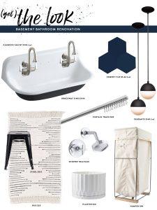 Basement Bathroom : The Look