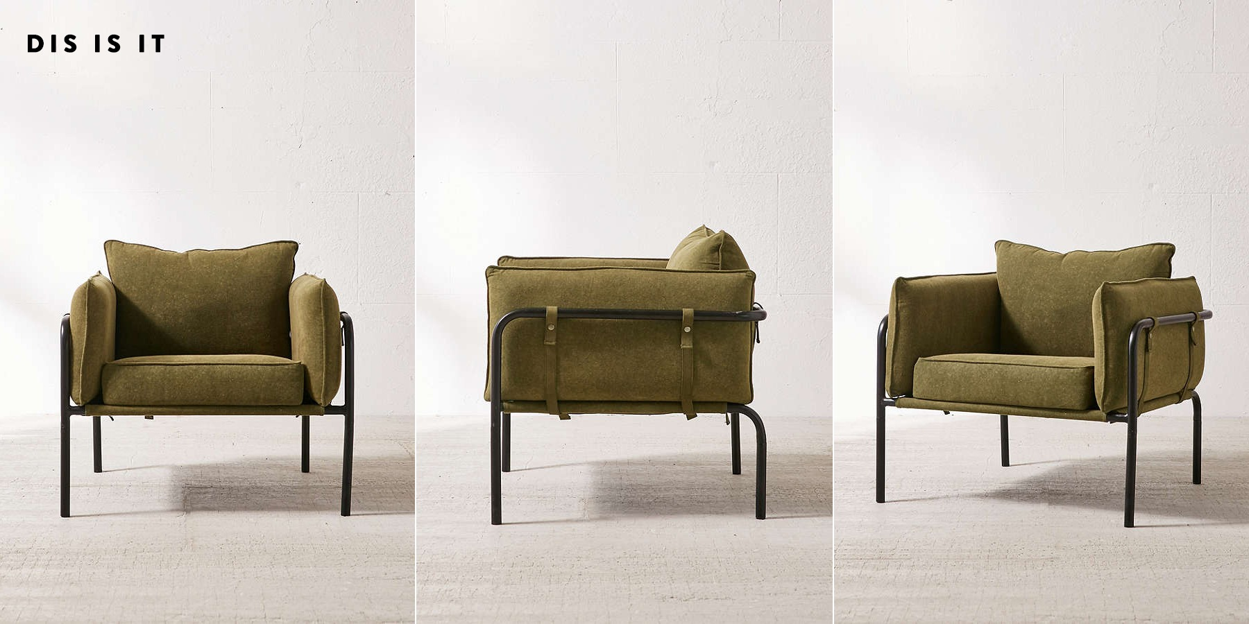 Army Green Chairs for the Fireplace
