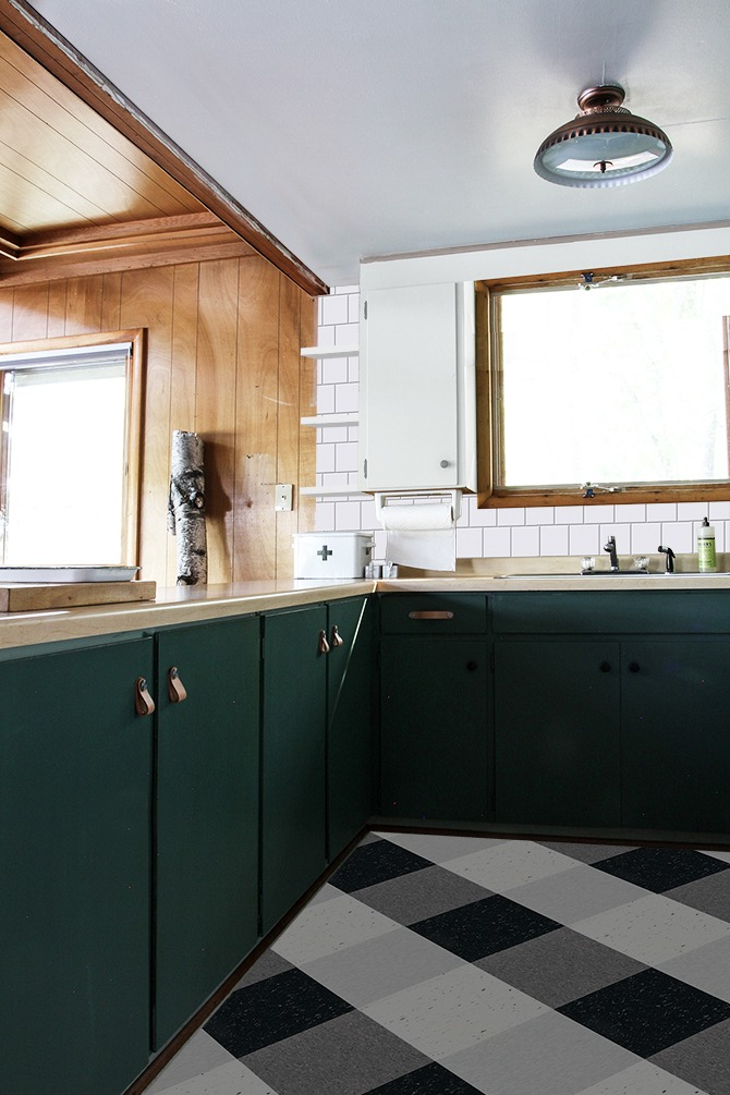 Cabin Update : Thinking Green in the Kitchen