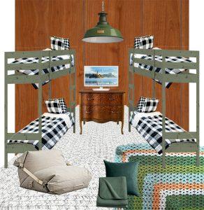 Cabin Ideas : The Bunkroom