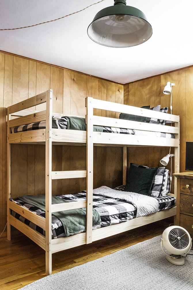 Cabin Update : Bunk Room