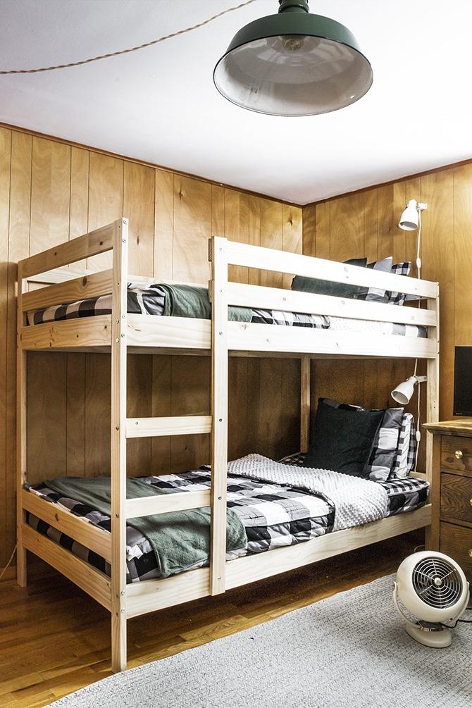 Cabin Update : Bunk Room