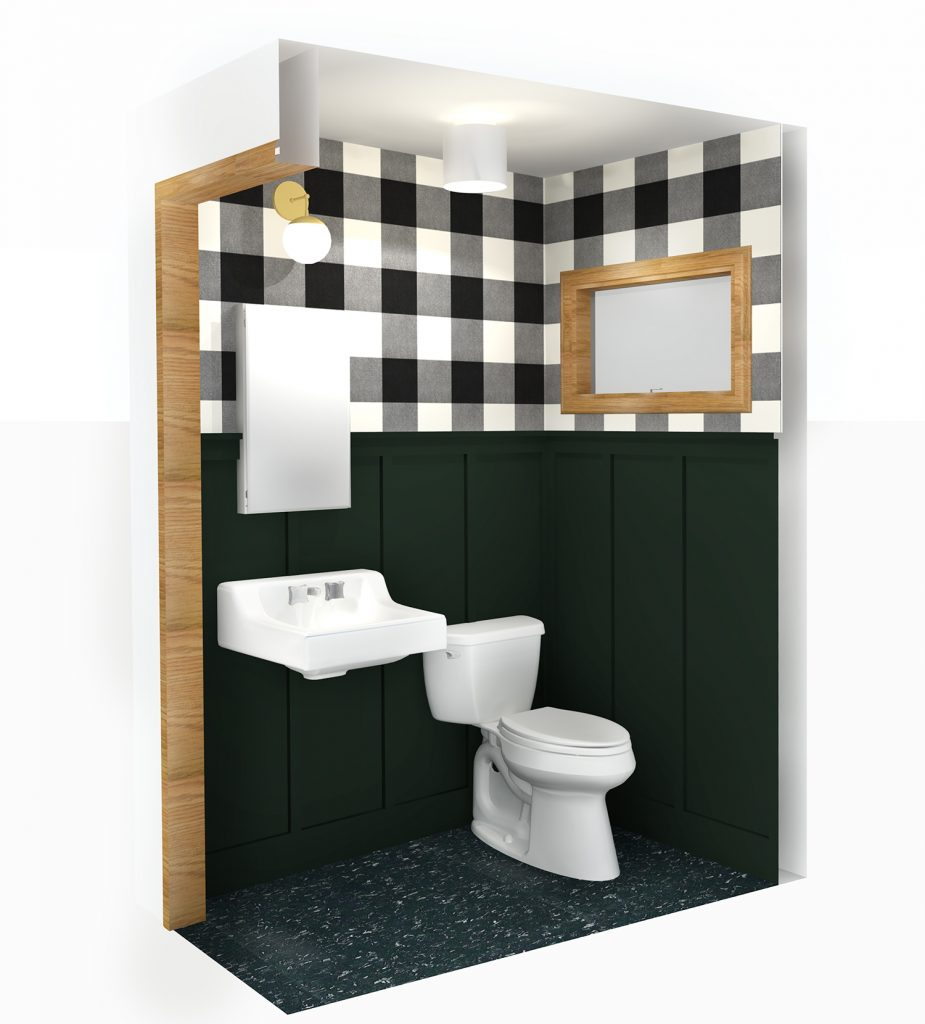 Cabin Bathrooms - A Plan