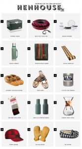 Gift Guide for The Cabin Enthusiast