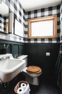 Reveal : Cabin Tiny Bathroom